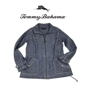 Tommy  Bahama Denim Light Jacket. Sz S/P